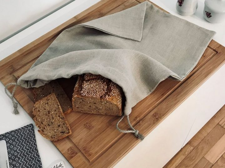 Alle Infos zu Brotbeuteln aus Leinen, Baumwolle und Hanf