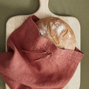 Brotbeutel aus Leinen